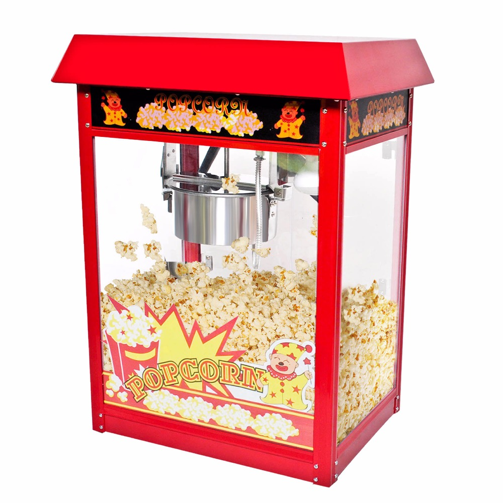 Goplus 8oz Deluxe Popcorn Popper Maker Machine Red Table Top Tabletop Theater Ep18966 In Baking Pastry Tools From Home Garden On Aliexpress