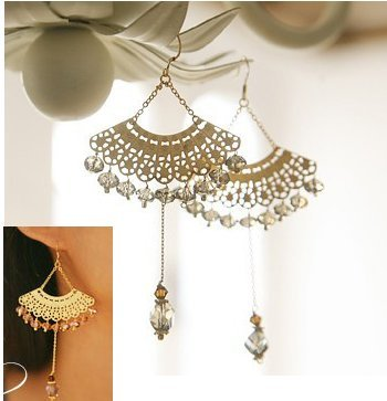Free shipping elegant Hollow out fun beads earring /jewelry/hairband/earring/ring hot sell 12pcs/lot