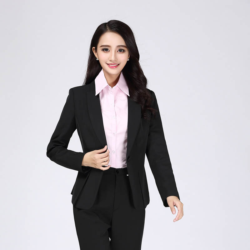 business attire women 39 s suit suits ol female dress suit pcddankou in blazers from women 39 s. Black Bedroom Furniture Sets. Home Design Ideas
