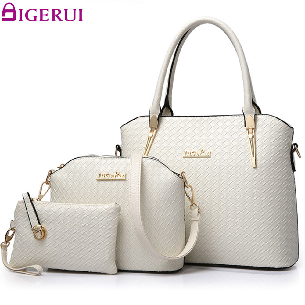 DIGERUI Female Composite Bag Ladies Handbag And Small Purse 3 PCS Women Shoudler Bag Set Bags Handbags Ladies Totes A578/Z composite structures design safety and innovation