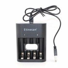 Cargador USB de La Batería de iones de litio para Etinesan SL-5 1.5 v AA de litio li-po batería sólo