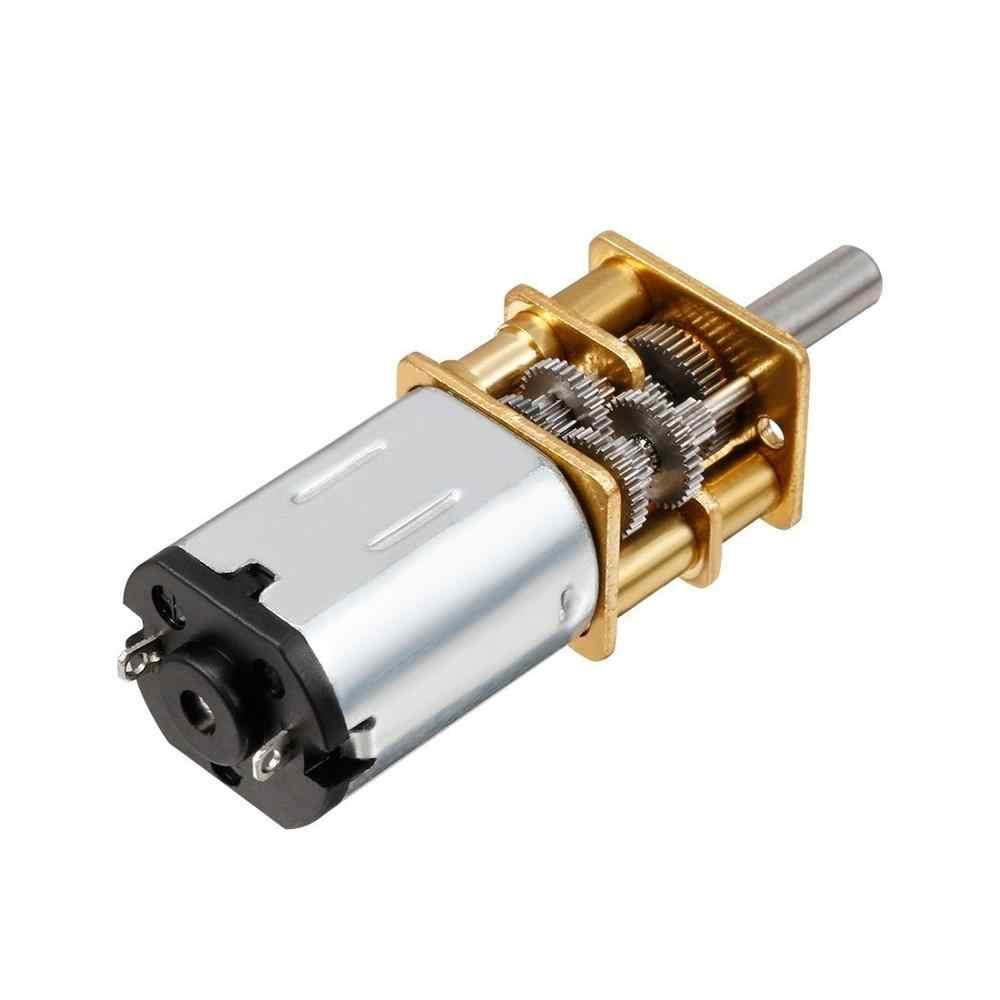 DC 3V/6V/12V N20 Mini mikro Metal DİŞLİ Motor dişli ile DC motorlar 15/30/50/60/100/200/300/500/1000 d/d