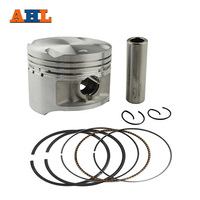 AHL Motorcycle STD 72mm Piston & Ring Pin Kit For Suzuki GN250 1985 2001 DR250 1982 1986 GZ250 Marauder 1999 2011