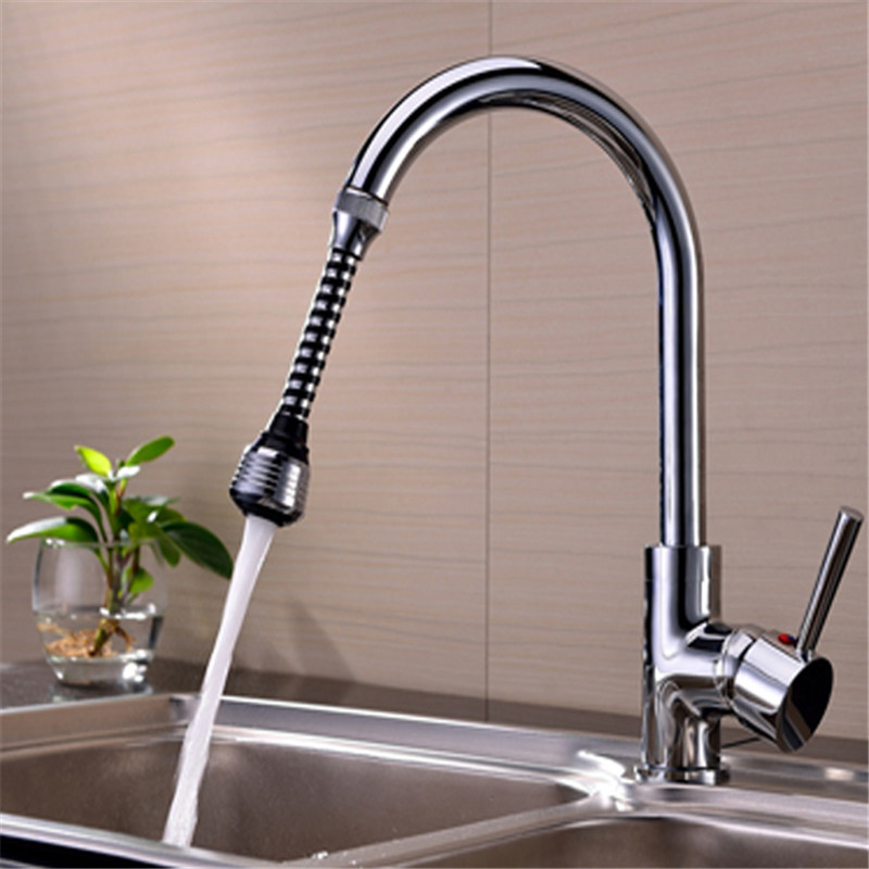 New 1pc aucet Sprayer Attachment Faucet Aerator Water Saving ECO-friendly Rotate Device External 24mm For Home Kitchen