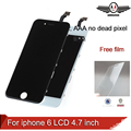 100% AAA quality Replacement For iphone 6 LCD 4.7 inch display + With Glass Touch Screen Digitizer Assembly free temper glass