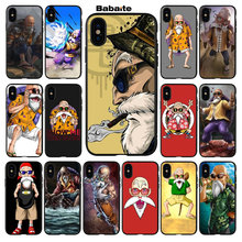 Babaite Sennin Muten-Roshi Master Kame Painted Cover Style Soft Phone Case for iPhone 7 7plus 5 5S 6 6S 8 8PlusX XS MAX XR(China)