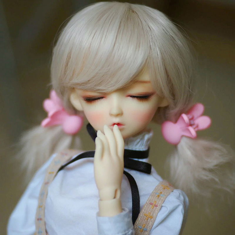 Dolls & Stuffed Toys New Arrival 1/3 1/4 1/6 Bjd Doll Wig Wire Beautiful Curly Hightemperature Doll Hair Synthetic Wig For Sd Dolls Waterproof Dolls Accessories Shock-Resistant And Antimagnetic