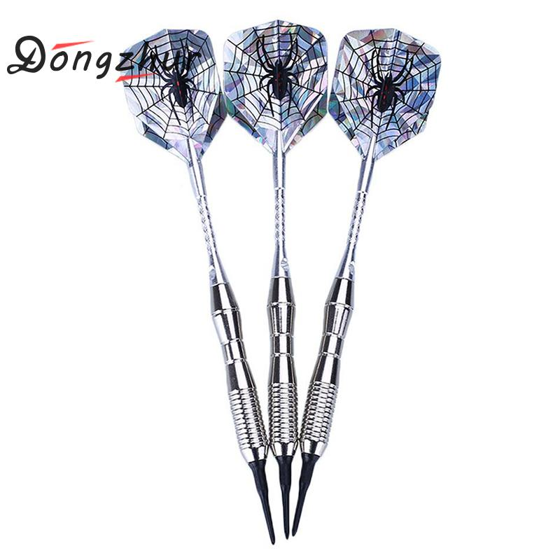 3pcs Soft Tip Darts 18g Dart Needle Throwing Tip Steel Tips Darts Shafts Nice Flight Harrow Point Wing Needle