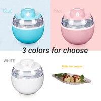 220V mini home ice cream maker Ice Cream Machine portable ice maker Fashion ice cream makermachine Milkshake Dessert Machine