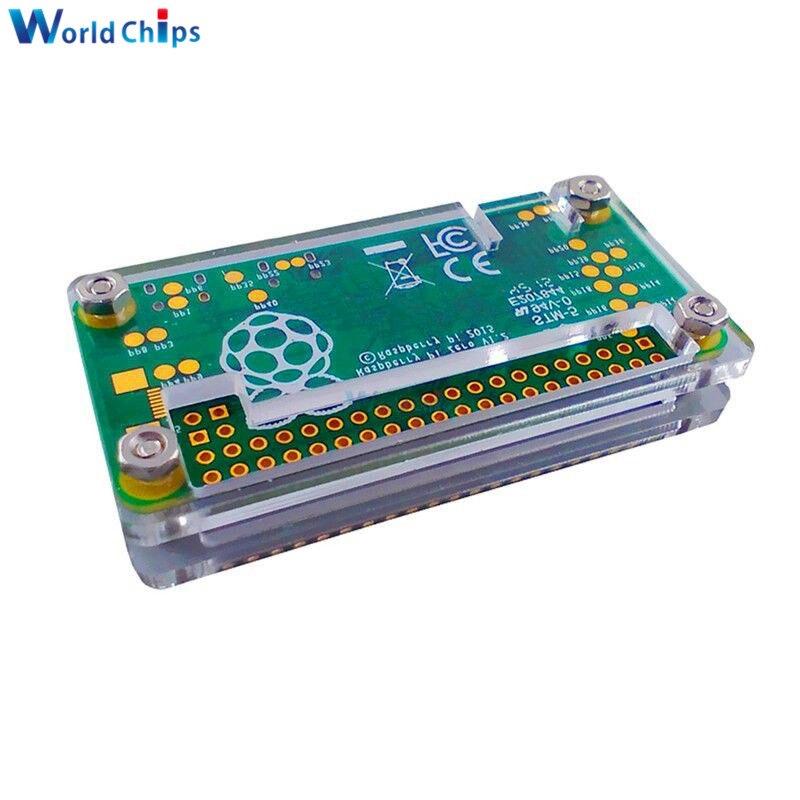 Raspberry Pi Acrylic Zero Case Shell Acrylic Blue Case Protection Box UK