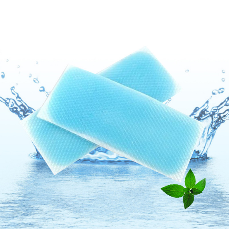 10 Pcs /Bag Adult & Baby Cooling Stickers Tie Infant Cooling Fever Paste Cooling Band Brain Protection Mint Stickers To Cool