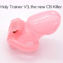 HolyTrainer V3, the new CB Killer.New male chastity device - Holy Trainer 2018 Chastity Cage