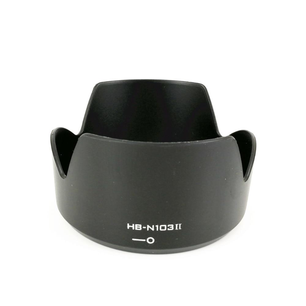 Lens Hood Ombre Remplacer HB-N103II HB-N103 II pour Nikon 1 Nikkor VR 10-30mm f/3.5- 5.6/30-110mm f/3.8-5.6 HBN103II HBN103 II