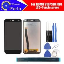 NOMU S10 LCD תצוגה + מסך מגע עצרת 100% מקורי חדש נבדק Digitizer זכוכית לוח החלפה עבור NOMU S10 פרו אוניברסלי