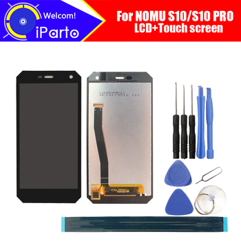 NOMU caliente S10 pantalla LCD + asamblea de pantalla táctil 100% Original nuevo probada Panel de vidrio digitalizador reemplazo para NOMU caliente S10 PRO Universal