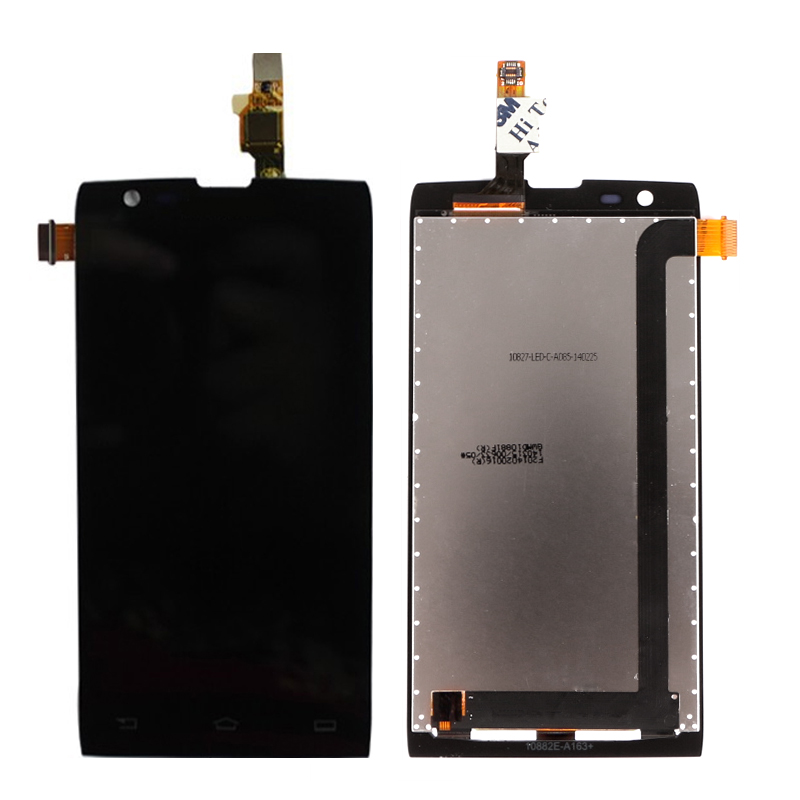 A+++ Display LCD For Philips Xenium W6500 LCD Display + Touch Screen Digitizer Assembly Replacement Black/white