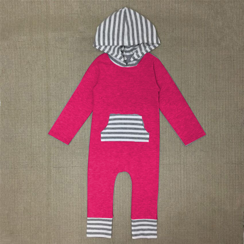 214cc5c024f COSPOT Baby Girls Harem Romper Girl Spring Autumn Hooded Jumpsuit Girl s  Fashion Tank Jumper Toddler Hooded Pajamas 2019 New 30-in Rompers from  Mother ...