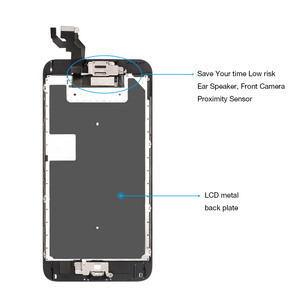 "Image 3 - A1634 A1687 A1699 Vollen satz Display Für Apple iPhone 6S Plus LCD Touch Sensor Digitizer Montage 5.5 ""Bildschirm home button + Lautsprecher"