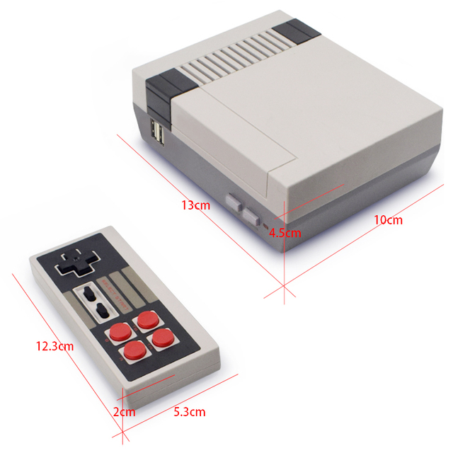 Data Forg Mini TV Game Console 8 Bit Retro Video Game Console Built-In 620  Games Handheld Gaming Player Best Gift