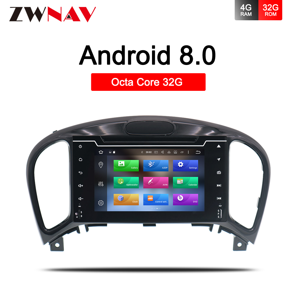 4 32 Android 8 0 Car DVD Stereo For Nissan Juke for Infiniti ESQ 2012 2017