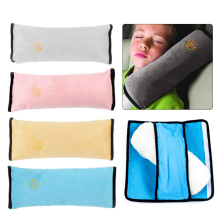 Car Auto Seat Belt Strap Safety Shoulder Harness Protector Kid Baby Pad Sleep Pillow Cushion Support Cover Headrest