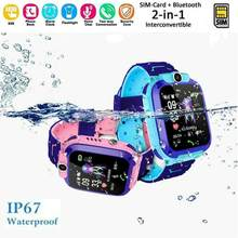 Q12 Smart Watch with GPS GSM Locator Touch Screen Tracker SOS for Kids Children Student 1.44 Inch Waterproof Student Smart Watch(China)