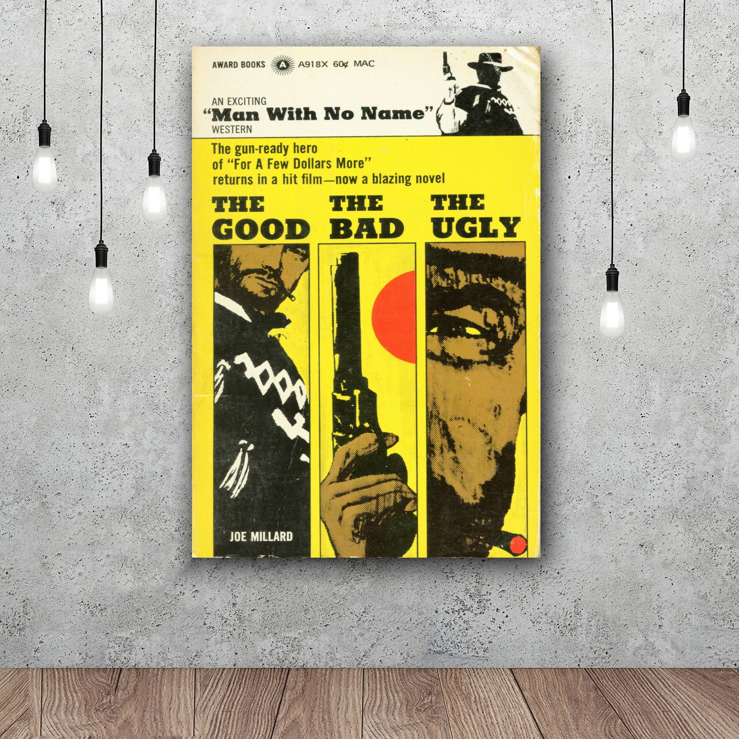 The Good, The Bad, And The Ugly Art Silk Fabric Poster Wall Decor ...