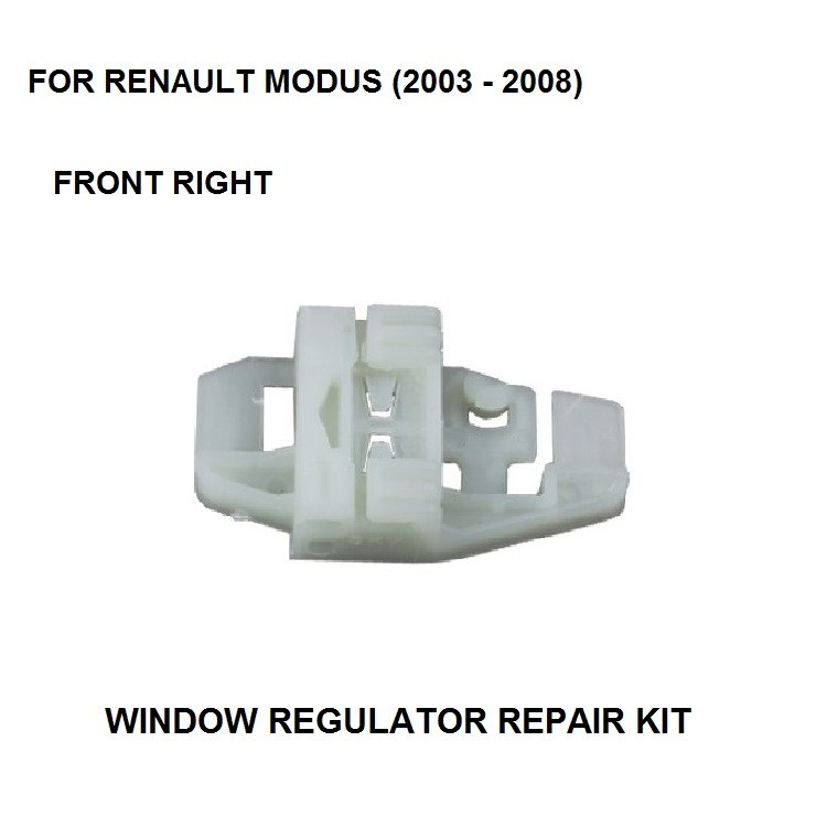 2003-2008 WINDOW REGULATOR CLIP KIT FOR RENAULT MODUS ELECTRIC WINDOW REGULATOR REPAIR CLIP FRONT RIGHT SIDE