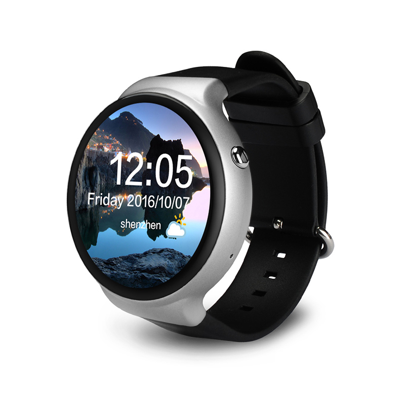 I4 SmartWatch Android 5.1 MTK6580 1GB+16GB Heart Rate Monitor Smart Watch with 3G WiFi GPS VS Samsung Gear S3 amazfits