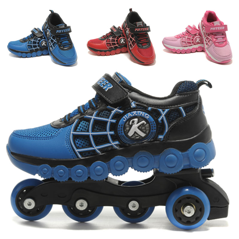 Inline Roller Skates Children Shoes Kids Sneakers Wheel ...