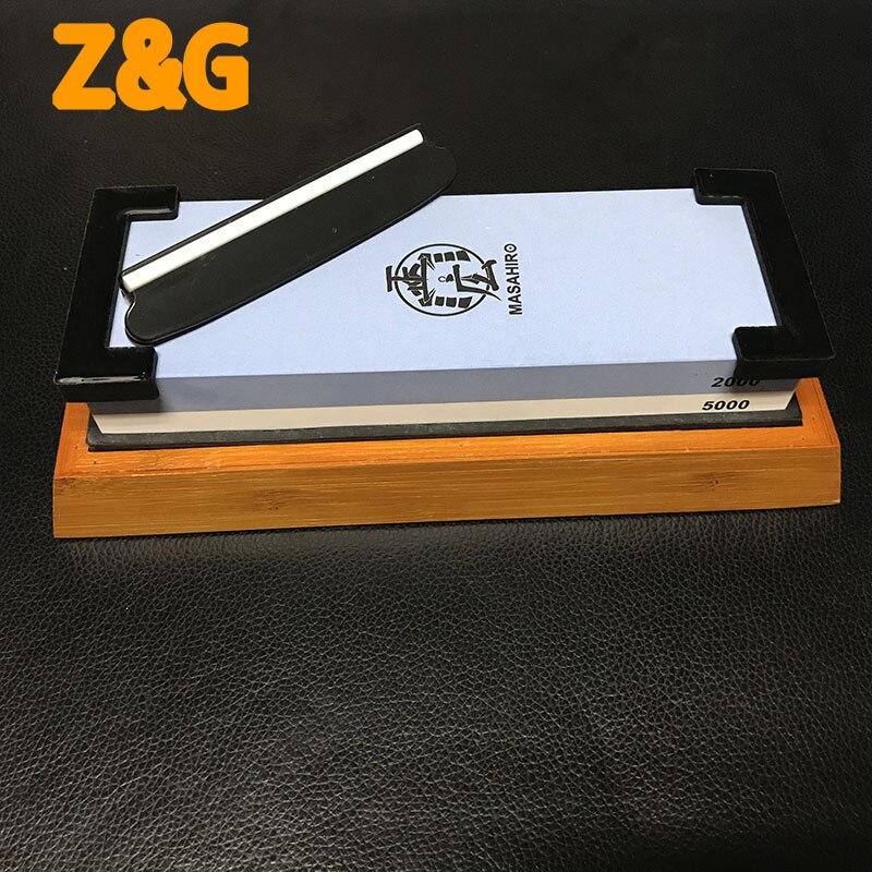 Professional Kitchen Knife Sharpener Stone Water Stone For Sharpening Knive White Corundum Whetstone400/1000 1000/3000 2000/5000