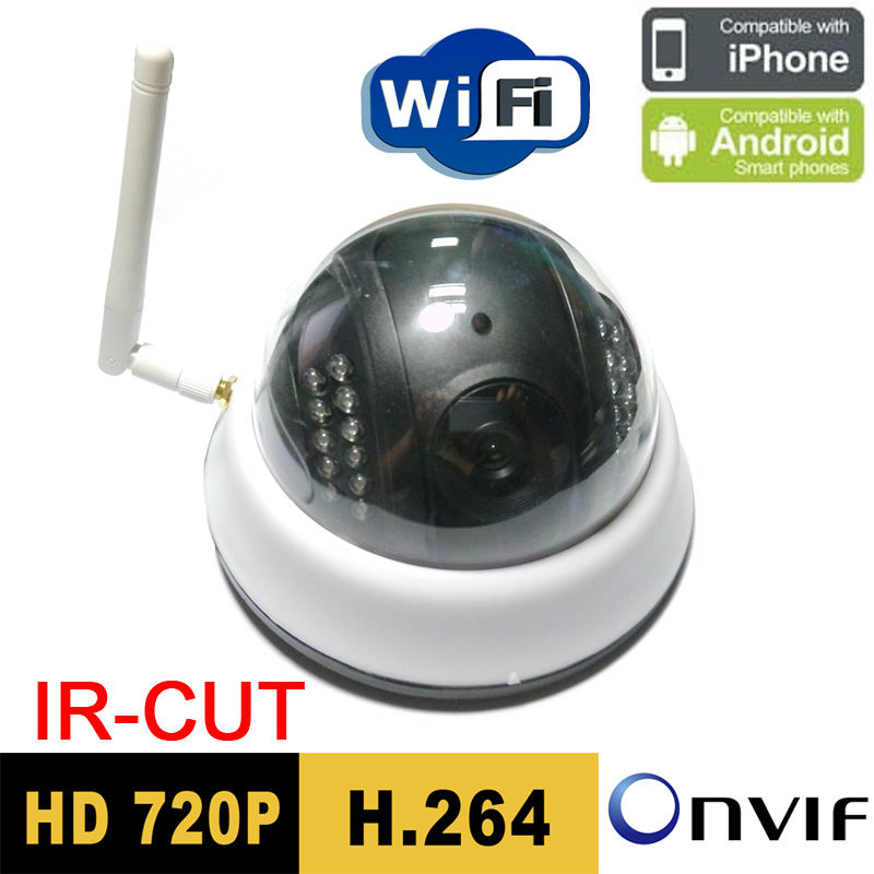 Free shipping Hot Sale Infrared Cctv Security Onvif Demo Ip Camera Wireless Wifi 720p Hd Mini P2p Home security door cameras