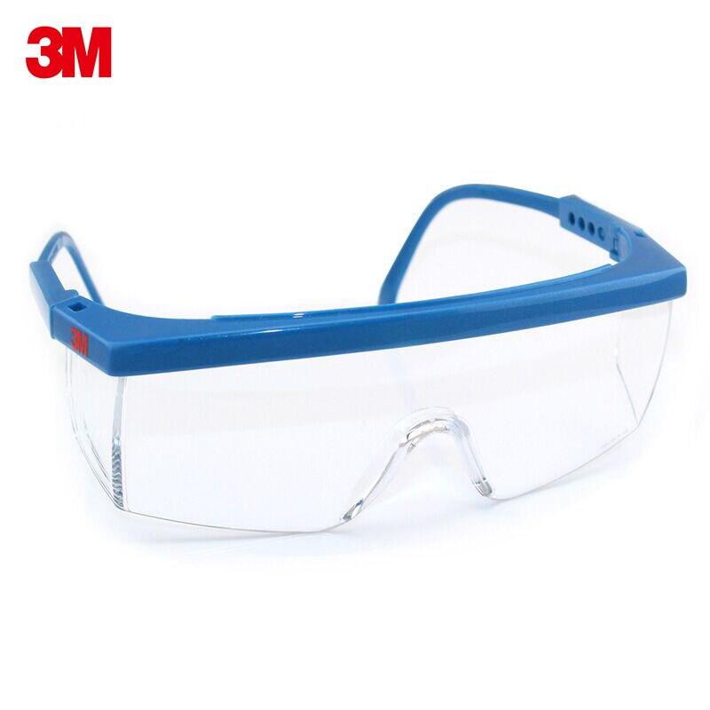 2 шт. 3M1711 защитные очки анти шок анти-туман защита Gafas Seguridad Trabajo Регулируемая длина Óculos