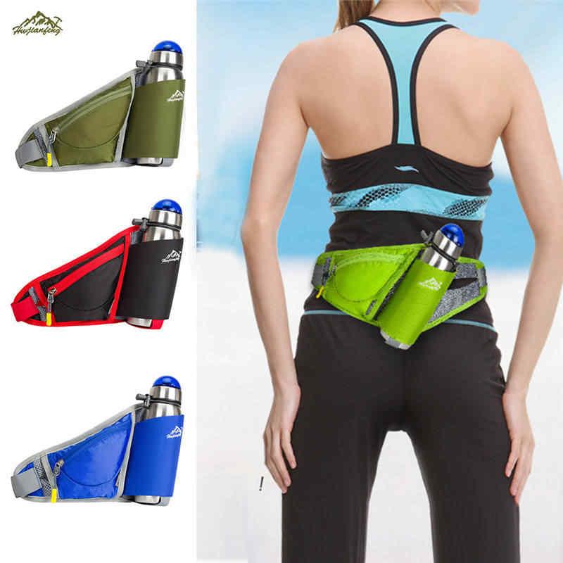 6a979a2c8e5c Running Bum Bag Travel Handy Hiking Sport Kettle Pack Waist Belt Zip Pouch  waterproof riding mobile anti-theft bag pockets P#C