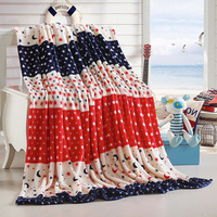 British Style Coral Flannel Fleece Soft Multifunction Blankets Thin Plaids Sofa Cover Single Twin Queen King