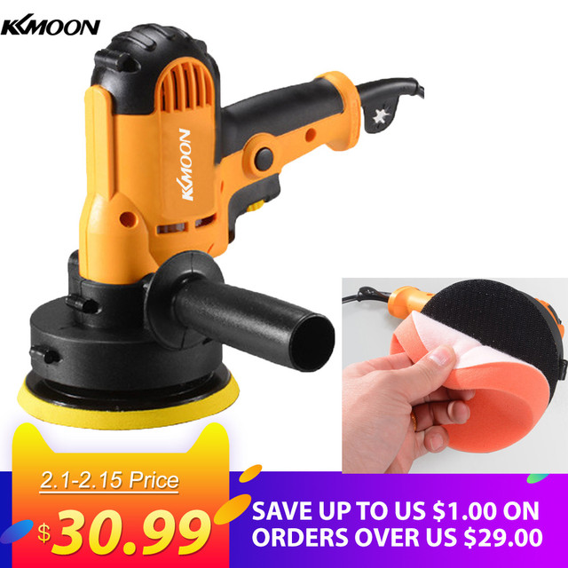 Kkmoon 700w Car Polisher Machine Electric Auto Polishing Adjule Sd Sanding Waxing Grinding Tools Accessories
