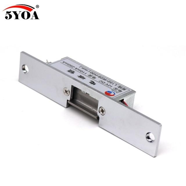 Fechadura elétrica para sistema de controle de acesso, fechadura 5yoa novo strikel01