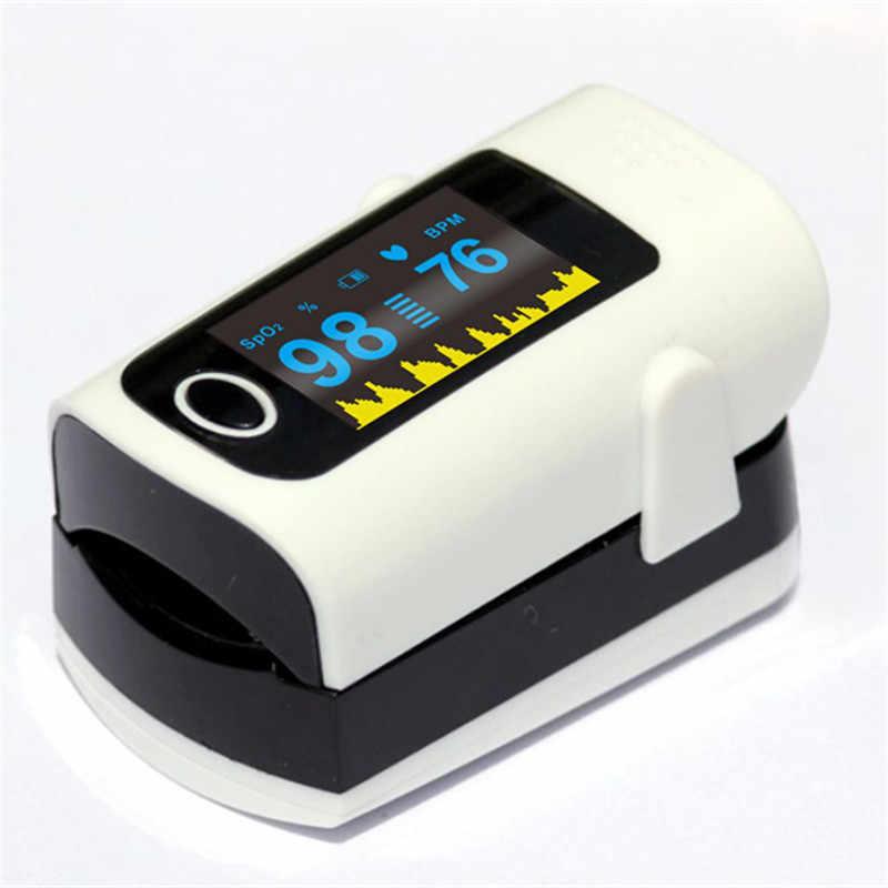 Y tế Ngón Tay Pulse Oximeter SpO2 Độ Bão Hòa Ôxy Máu Đo