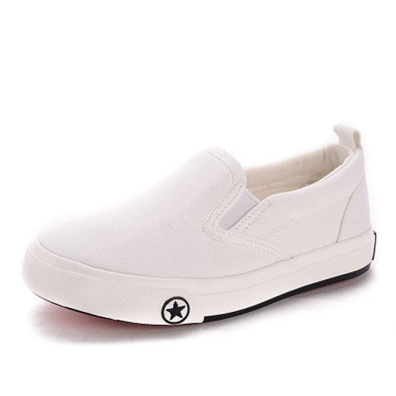 NEW BOYS GIRLS CANVAS SHOES CHILDRENS CASUAL PUMPS PLIMSOLLS SNEAKERS TRAINERS
