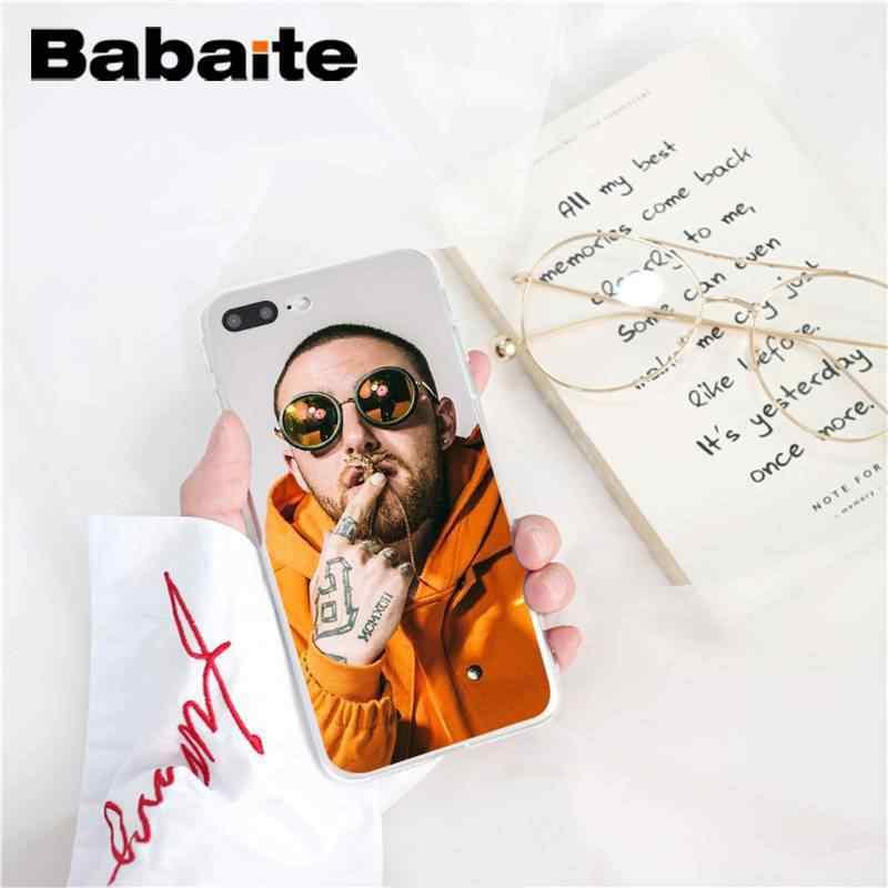 Babaite Macs Miller téléphone nouvellement arrivé étui pour iphone X XS MAX 6 6s 7 7plus 8 8Plus 5 5S SE XR 10 11 11pro 11promax