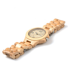 BEWELL Fashion Unisex Wood Watch Men Women Clock Ladies Watch Analog Mens Watches Top Brand Luxury With Paper Box 038A
