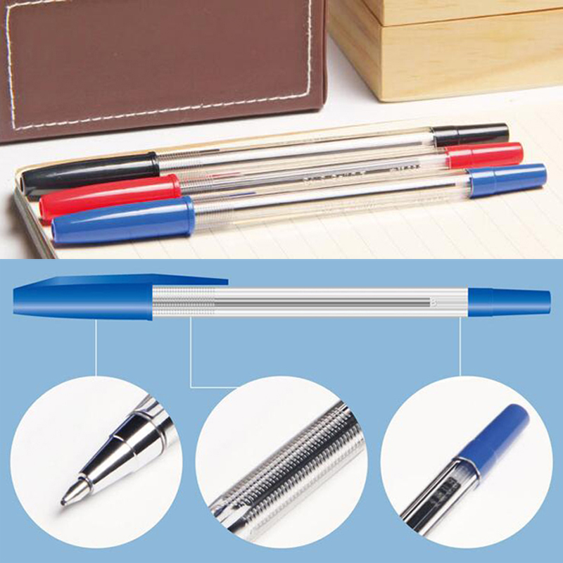 50pcs/lot Cute Ballpoint Pen School Office Supplies Writing Pens Stationery Sign Pen Retail Wholesale Free Shipping Papelaria