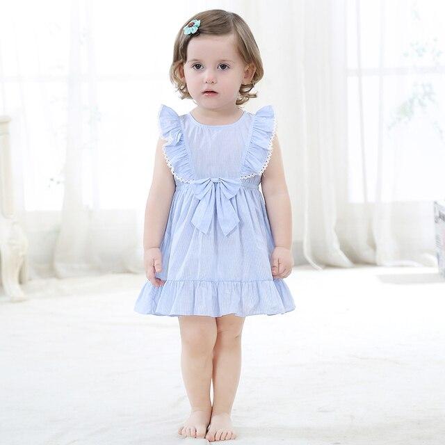 33e691d7c Cotton Denim Dresses Little Girl Party Dress