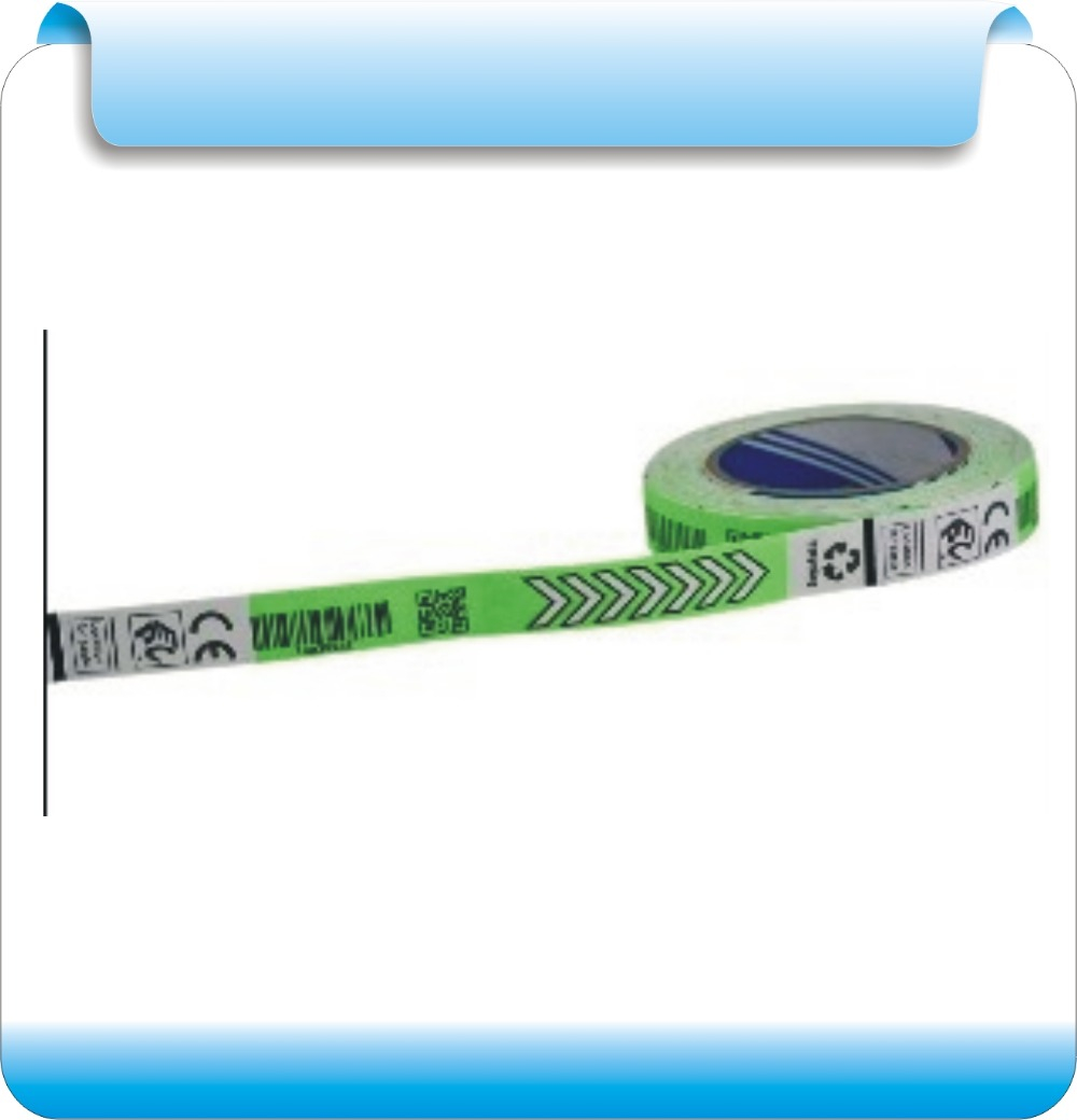 2000pcs/roll  860-960MHZ Frequency RFID Electronic Tag Alien Higgs - 3 / 4 Wrist Band Penetration In The Hospital Management