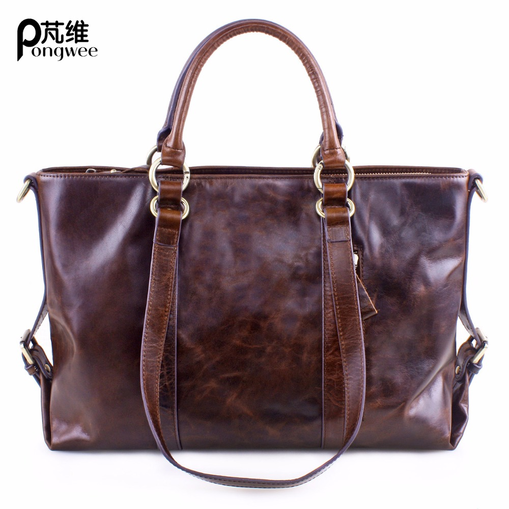 Здесь продается  PONGWEE Soft Genuine Leather Women Messenger Bags High Quality Nature Real Leather Shoulder Bags Double Compartments  Камера и Сумки