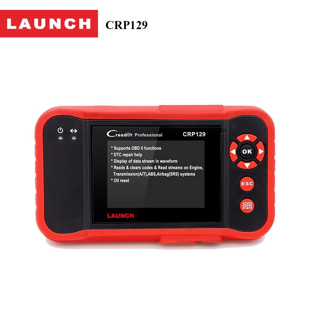 Prix pour Original Launch X431 Creader CRP129 ENG/À/ABS/SRS EPB SAS remet La Lumière de Service D'huile Code de diagnostic Scanner Automotivo