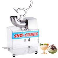 200W Sno-cone Machine Shaved Ice Maker Crusher Hawaiian Duty Electrics Shaver