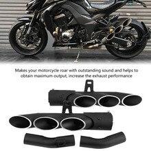 Silenciador de escape para motocicleta Kawasaki Z1000 2010 2016, accesorios para motocicleta