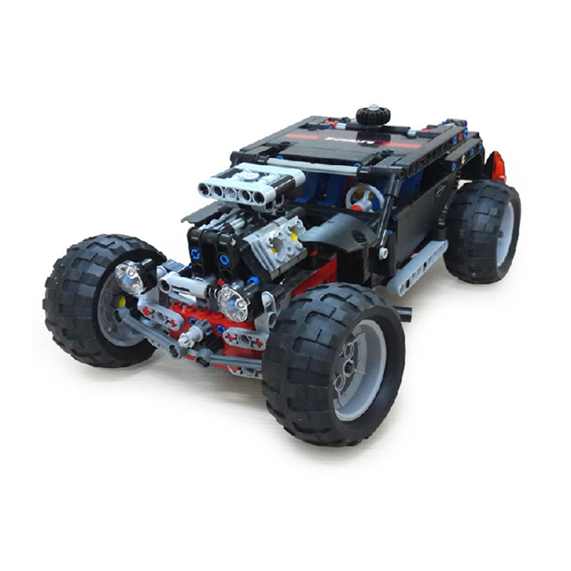 Four-Wheels Drive Building Blocks Technic Transport SUV Racing Car Truck Model Toys Brick Compatible With toys Hummer Toys racing wheels h 480 7 0 r16 4x114 3 et40 0 d67 1