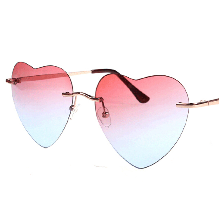 8c703ced9e 2015 Summer Style Metal Heart Shaped Sunglasses Vintage Sun glasses for  Women Men oculos de sol feminino gafas de sol-in Sunglasses from Apparel  Accessories ...